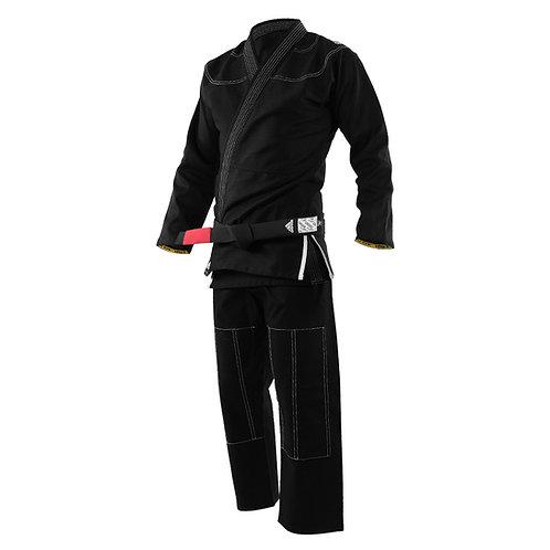 Kimono adidas Jiu Jitsu JJ350 Challenge Preto (A)
