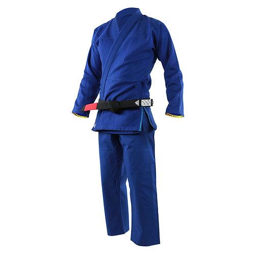 Kimono adidas Jiu Jitsu JJ350 Challenge Azul (A)