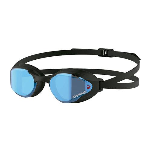 Óculos para Natação SWANS SR-81MPAF Lente Curvada Fumê Espelhada
