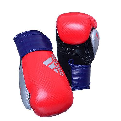 Luva de Boxe Adidas Hybrid 65 Vermelho/Azul