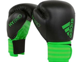 Nova Luva Adidas Hybrid 100 Preto/Verde