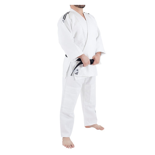 Kimono Judô Adidas Training Branco Trançado