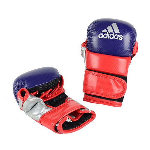 Luva Adidas Sparring Azul/Vermelho