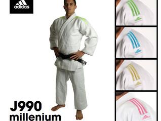 Kimono Judo Millenium adidas J990, Estilo e Resistência.