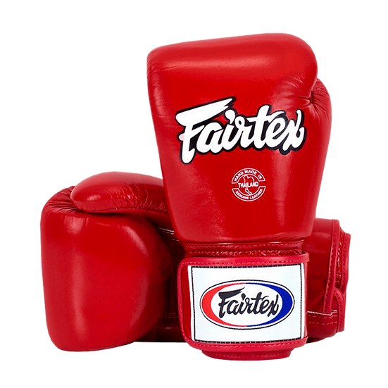 Luva de Boxe e Muay Thai Fairtex Vermelha