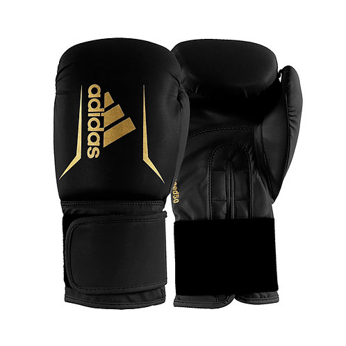 Luva de Boxe adidas Speed 50 Black Gold