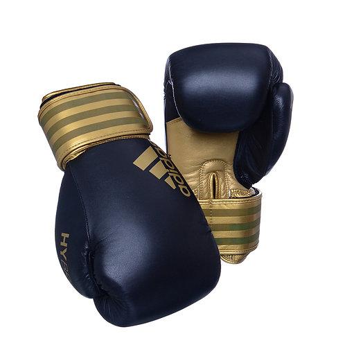 Luva de Boxe Muay Thai Adidas Hybrid 200 Black & Gold