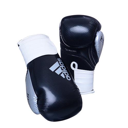 Luva de Boxe Adidas Hybrid 65 Preto/Branco