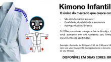 Kimono Judô Infantil J200e, o kimono da adidas que cresce com seu filho !