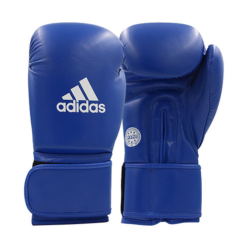 Luva adidas WAKO Approved Kick Boxing Training Azul PU