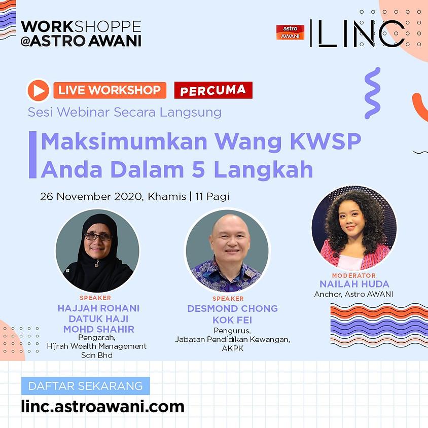 Maksimumkan Wang KWSP Anda Dalam 5 Langkah