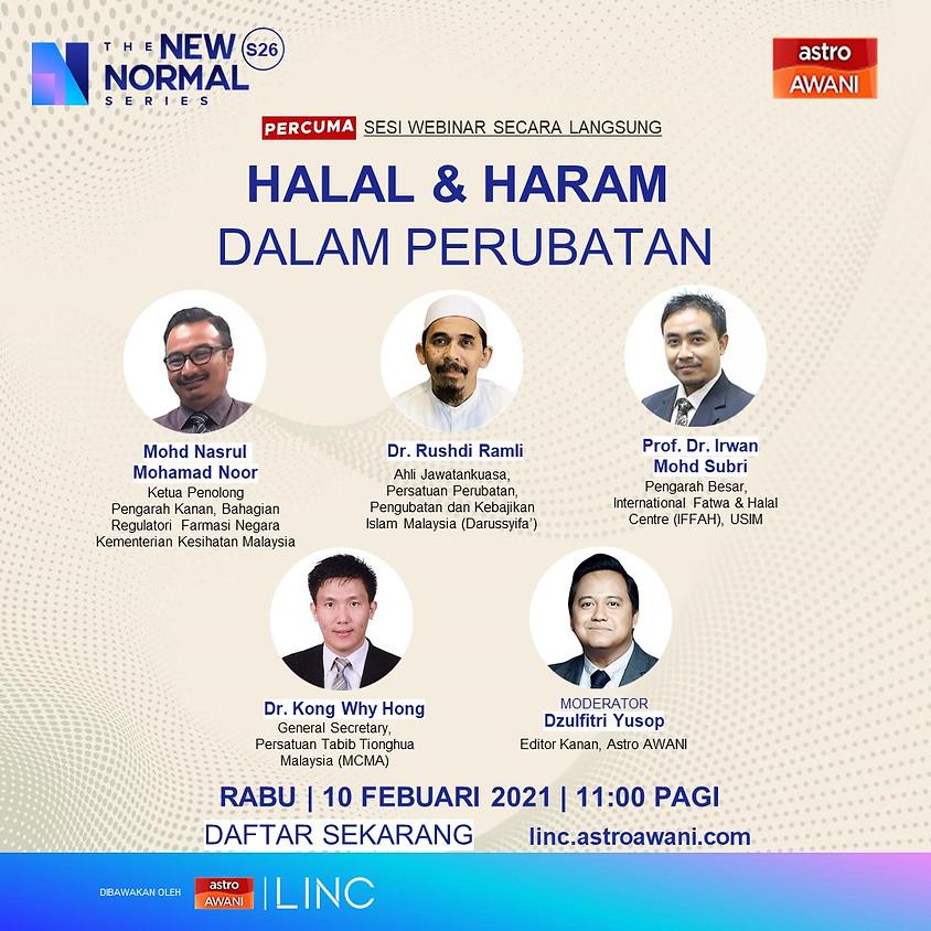Halal & Haram Dalam Perubatan