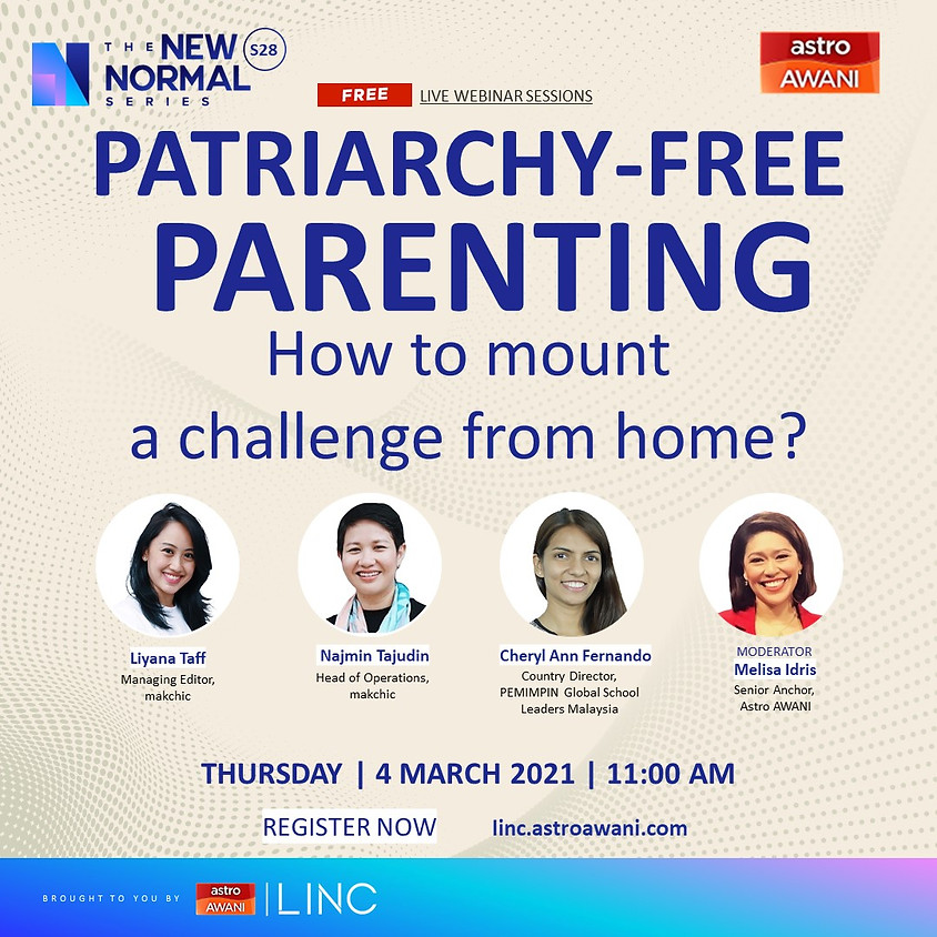 Patriarchy-free Parenting: How to mount a challenge from home?