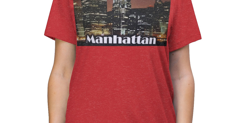 Manhattan Triblend Tee