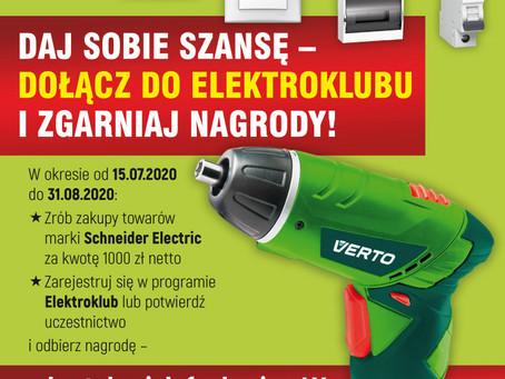 Promocja z Elektroklubem!