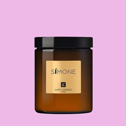 SIMONE - Féminité de Rose - bougie 150gr