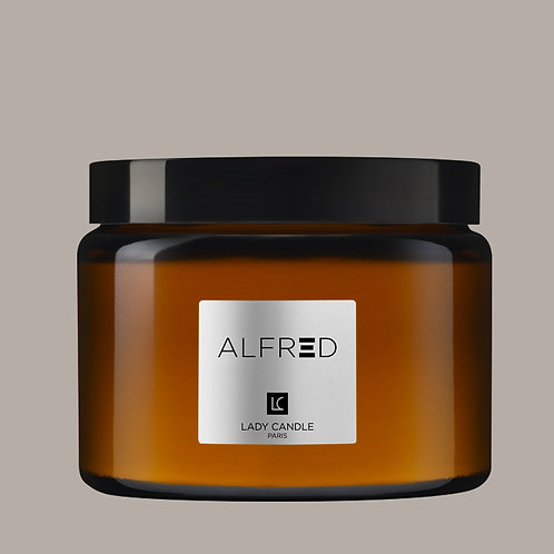 ALFRED - Thé so British - bougie 400gr