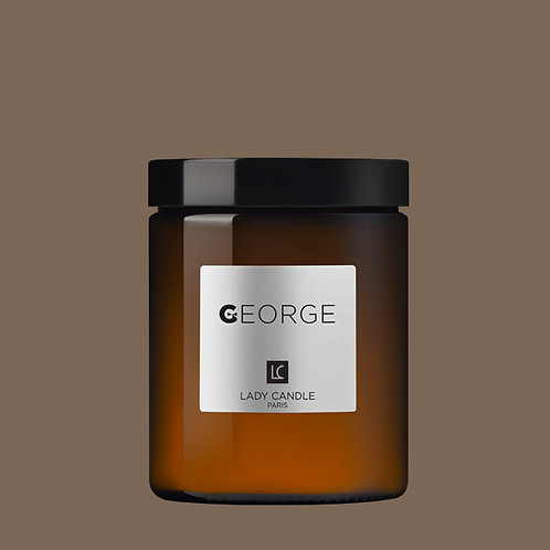 GEORGE - Café volutes - bougie 150gr