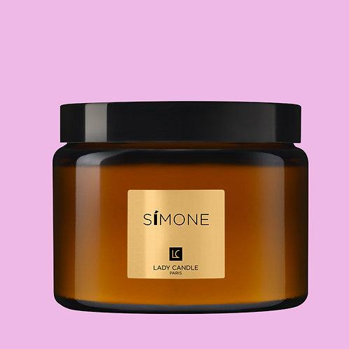SIMONE - Féminité de Rose - bougie 400gr