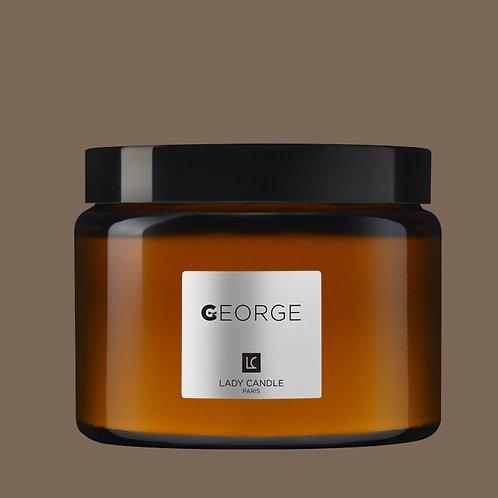 GEORGE - Café volutes - bougie 400gr