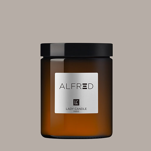 ALFRED - Thé so British - bougie 150gr