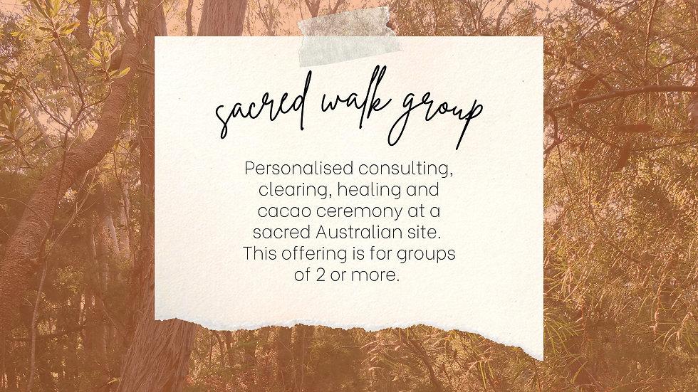 Sacred Walk Group