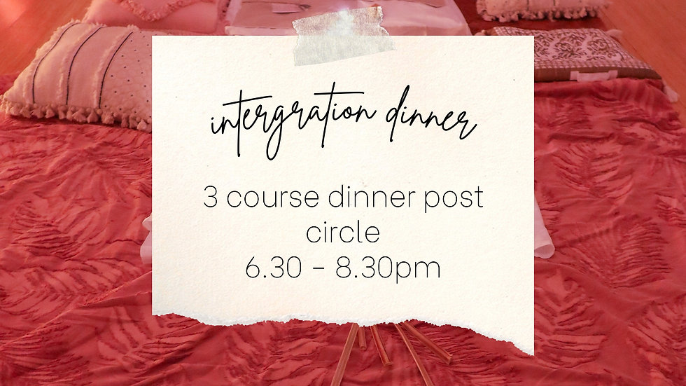Integration Dinner