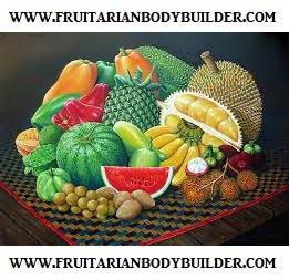Fruitarian Bodybuilder