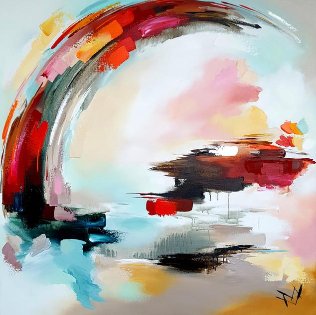 Atelier - 120 x 120 - regenboog