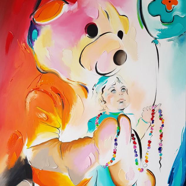 KiKa schilderij