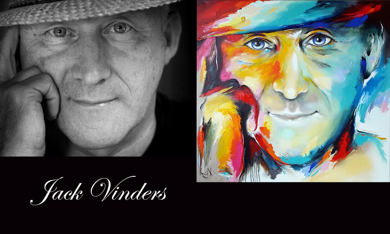 Jack Vinders foto en schilderij