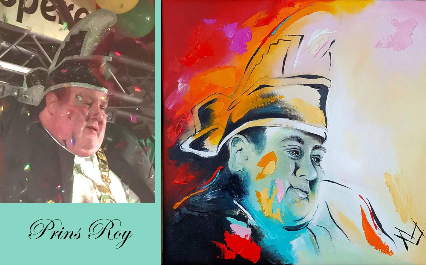 Roy foto en schilderij
