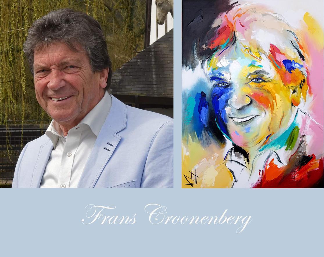 Frans Croonenberg foto en schilderij