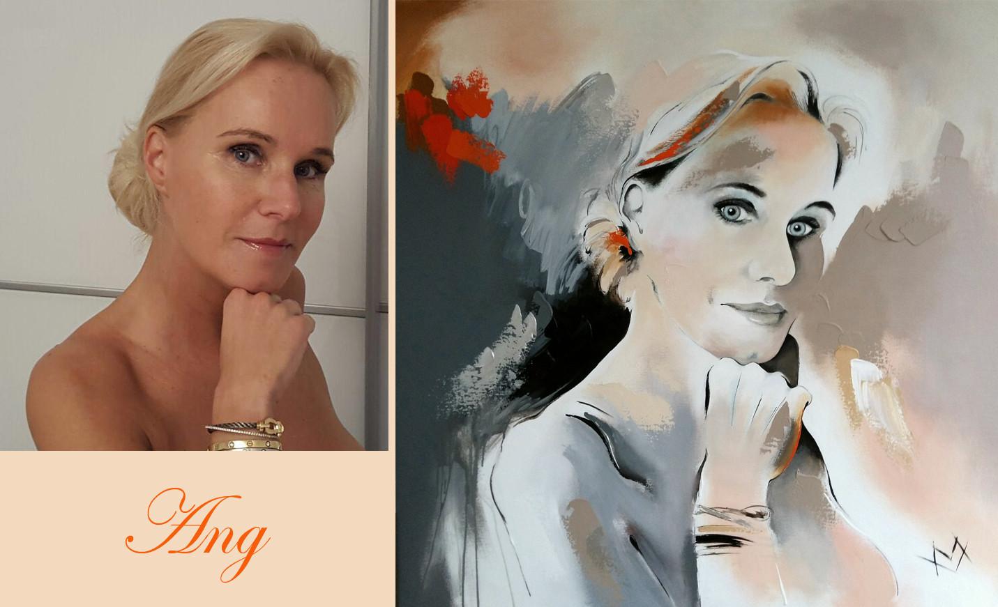 Ang foto en schilderij