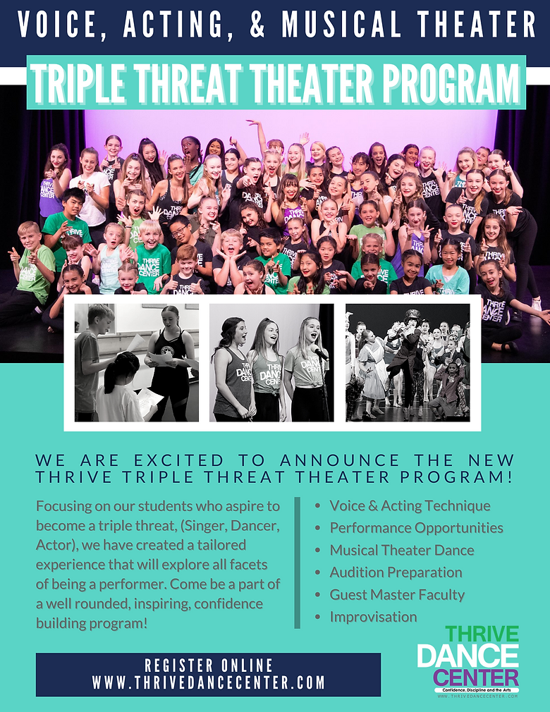 Thrive Dance Center Triple Threat Theate