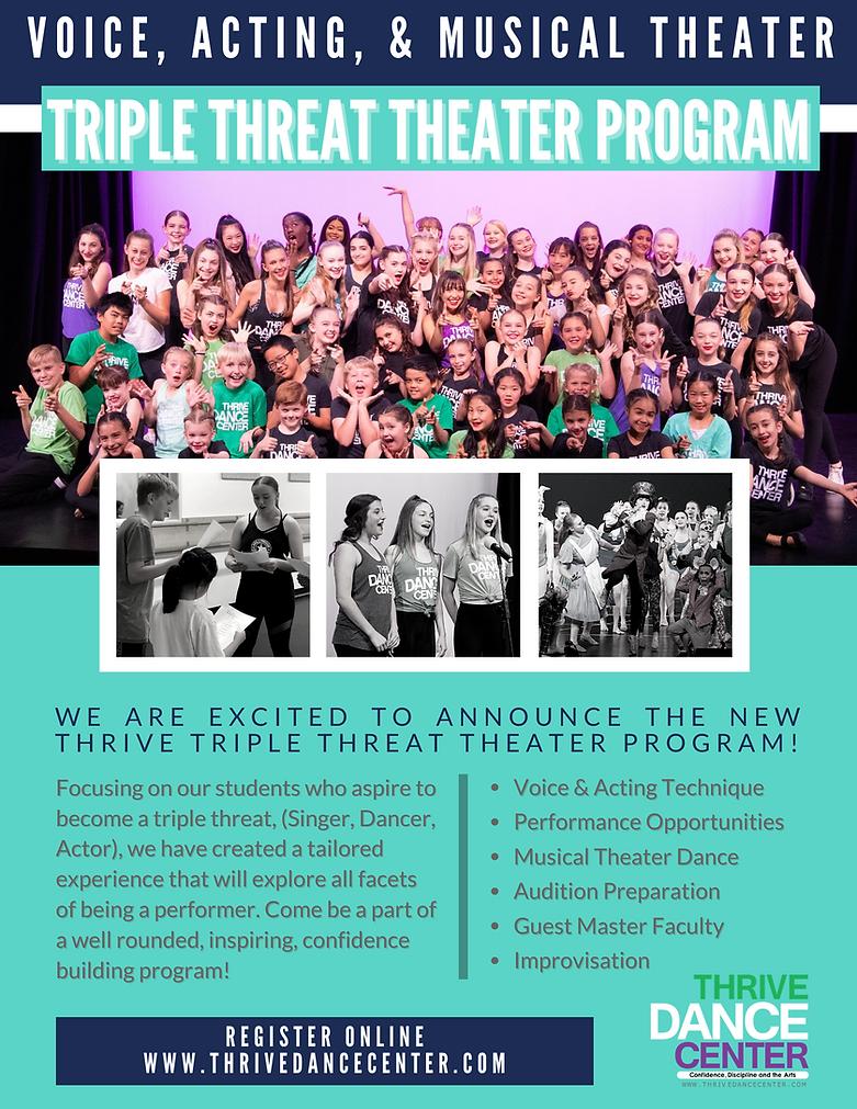 Thrive Dance Center Triple Threat Theate
