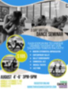 Thrive Dance Center - 3 Day Virtual Danc