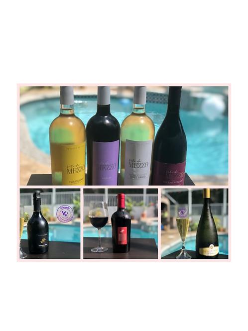 7  ITALIAN WINE SET