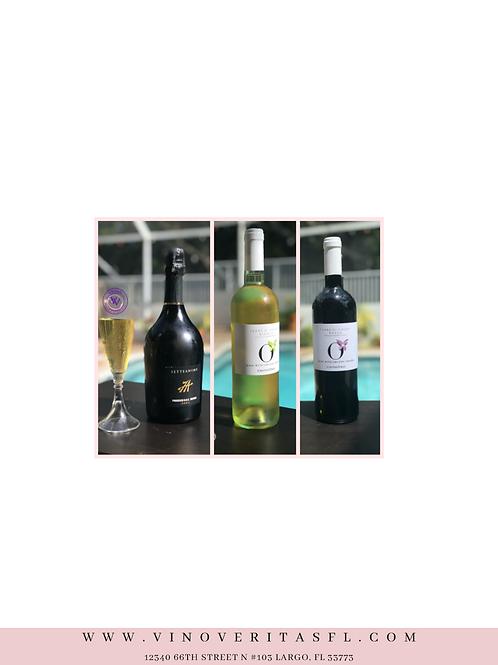 3 Italian Wine Set