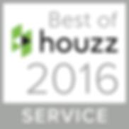 BEST OF HOUZZ 2016 IN SERVICE