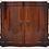 Thumbnail: Mahogany Serpentine Sideboard