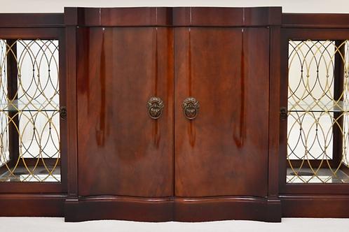 Mahogany Serpentine Sideboard