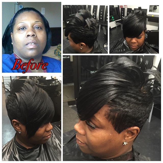 Cut, Relaxer, & Style