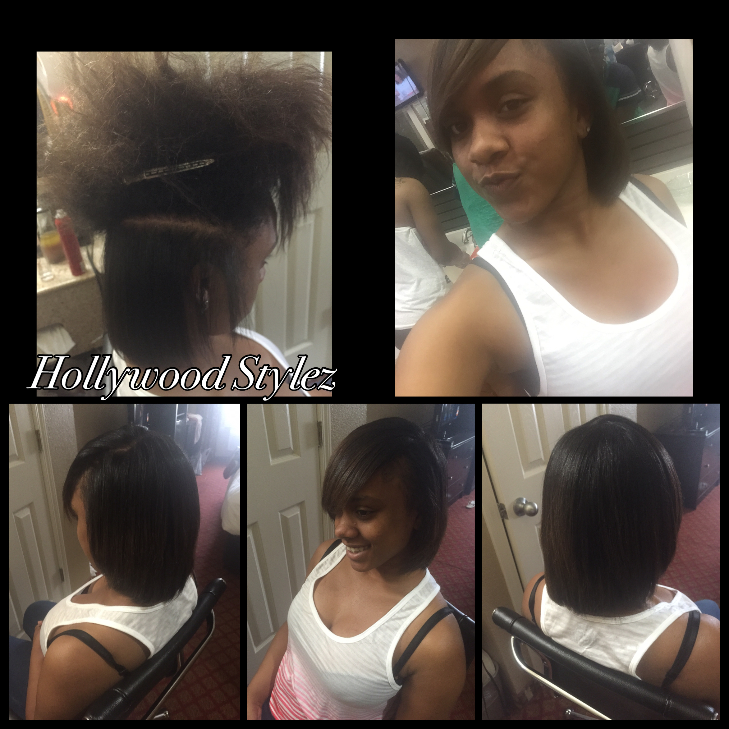 Silk Press (Natural Hair)