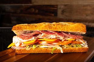 West Coast Sourdough Sacramento CA - Gourmet Turkey and Dry Salami Sandwich
