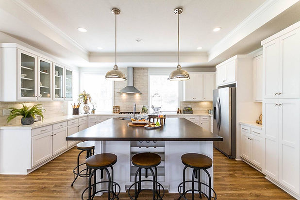 Manufactured homes with open concept kitchen Paradise Homes