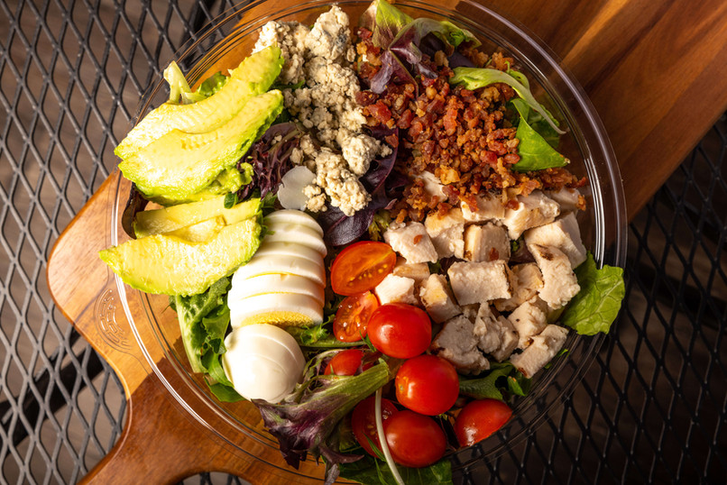 West Coast Sourdough Marconi Ave Sacramento CA  fresh and colorful cobb salad