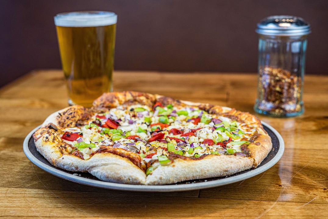 The Hub Natomas CA Yummy and Modern Pizza