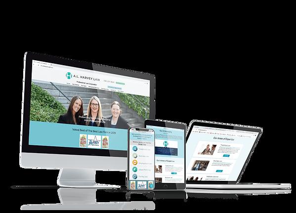 attorney website design in sacramento, ca