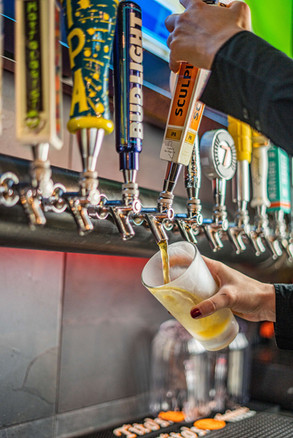 The hub Natomas CA Great Selection of beer